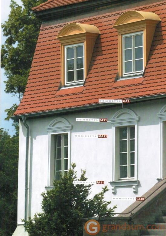 Фасадный декор, Подоконник NMC FA11