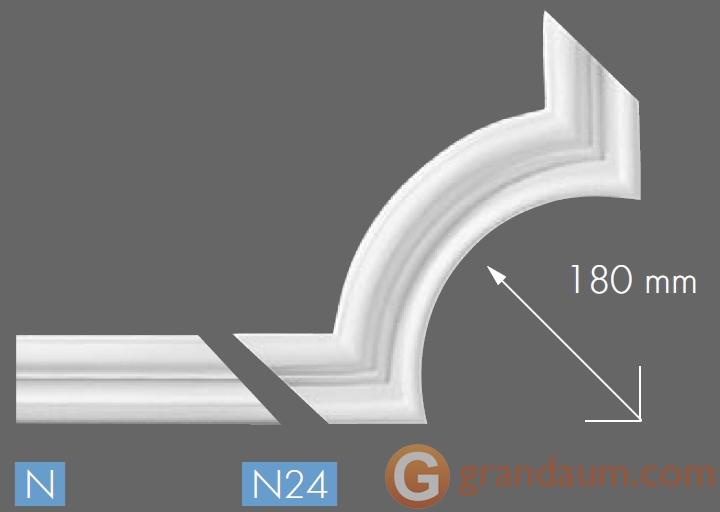 Угловые элементы и вставки NMC N24
