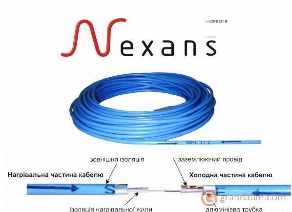 Нагревательный мат Nexans (1050/Millimat)