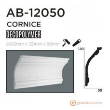 Карниз с гладким профилем Decolux AB12050