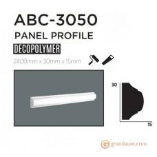Молдинг с гладким профилем Decolux ABC3050