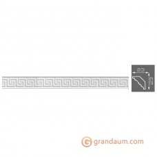 Потолочный плинтус с орнаментом, багет Формат 12007 23*23MM