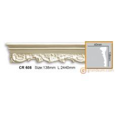 Молдинг гибкий Gaudi decor CR608 (2,44м) Flexi