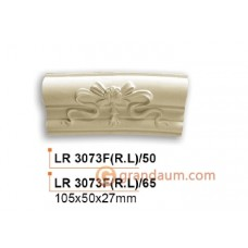 Молдинг радиусный Gaudi Decor LR 3073F(RL)50