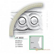 Молдинг радиусный Gaudi Decor LR 3600