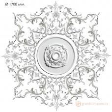 Наборная розетка из гипса Нр-инд. 5 диаметр 1700 мм
