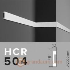 Молдинг с гладким профилем Grand decor HCR 504 (2,00м)