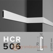 Молдинг с гладким профилем Grand decor HCR 506 (2,00м)