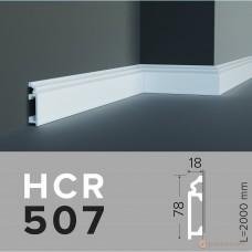 Напольный плинтус с гладким профилем Grand decor HCR 507 (2,00м)