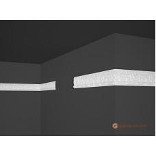 Потолочный плинтус с орнаментом, багет Marbet B10 9*45,5MM
