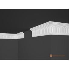 Потолочный плинтус с орнаментом, багет Marbet B19 28,5*75MM