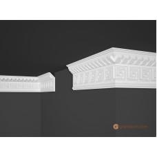 Потолочный плинтус с орнаментом, багет Marbet B25 37*100MM