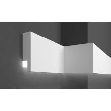 Молдинг фасадный для скрытого освещения Prestige decor MC 303LED (2.00м)