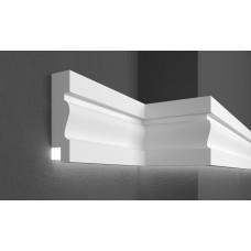 Молдинг фасадный для скрытого освещения Prestige decor MC 304LED (2.00м)