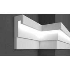 Молдинг фасадный для скрытого освещения Prestige decor MC 308LED (2.00м)