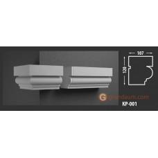 Карниз фасадный Fastrock КР-001 107*120 MM