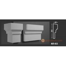 Молдинг фасадный Fastrock МЛ-053 65*255 MM