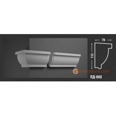 Подоконник фасадный Fastrock ПД-002 70*115 ММ