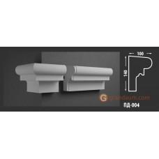 Подоконник фасадный Fastrock ПД-004 100*140 ММ