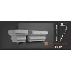 Подоконник фасадный Fastrock ПД-005 80*145 ММ