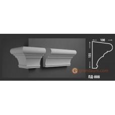 Подоконник фасадный Fastrock ПД-008 100*155 ММ