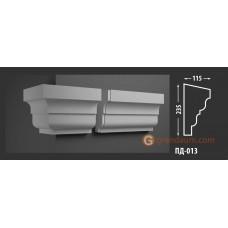 Подоконник фасадный Fastrock ПД-013 115*235 ММ