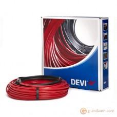 Нагревательный кабель DEVI Devi-Iceguard двужильный (18м, чёрный)