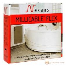 Нагревательный кабель Nexans MILLICABLE двужильный (30м, FLEX/2R 300/10)