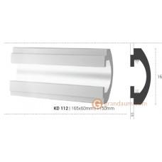 Карниз для скрытого освещения Tesori KD112 (1.15м)