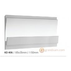 Карниз для скрытого освещения Tesori KD406 (1.15м)
